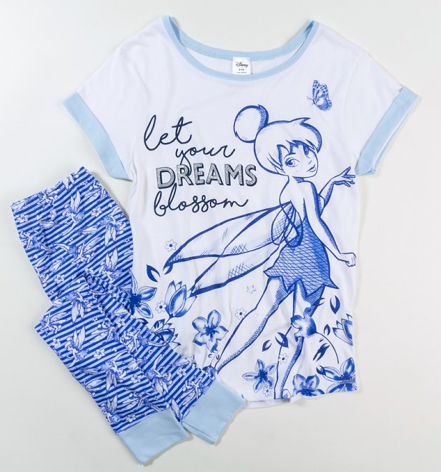 Women's Tinker Bell Let Your Dreams Blossom Pyjamas