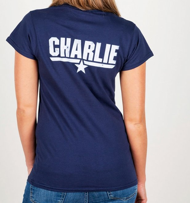 Women's Top Gun Charlie Fitted T-Shirt