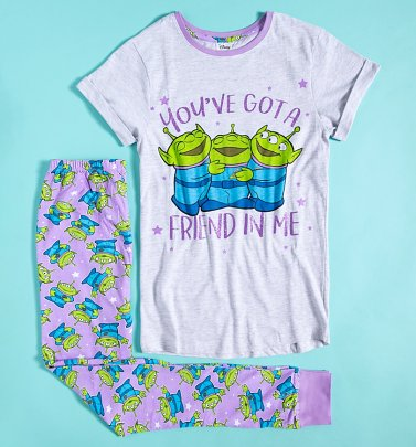 Women's Toy Story Aliens Friend In Me Disney Pixar Pyjamas