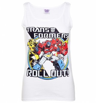 Women's Transformers Roll Out Vest