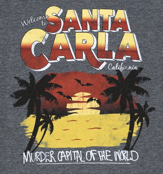 Women's Welcome to Santa Carla Fitted T-Shirt