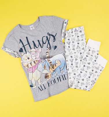 Women's Winnie The Pooh Hugs All Round Pyjamas