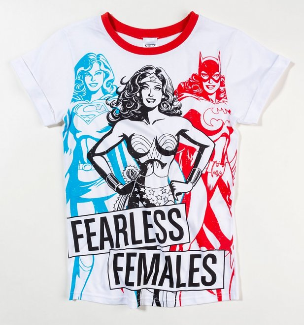 Women's Wonder Woman Fearless Female Pyjamas
