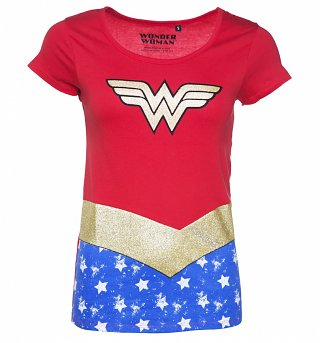 Women's Wonder Woman Uniform T-Shirt