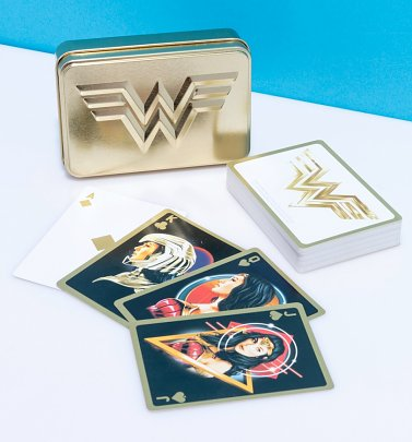 Wonder Woman 1984 Playing Cards in Tin