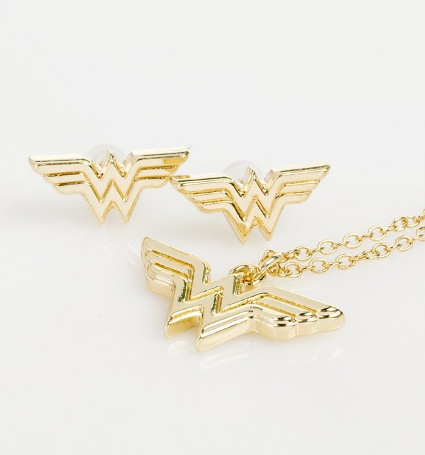 Wonder Woman Jewellery Set and Case