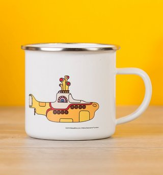 Yellow Submarine Enamel Mug