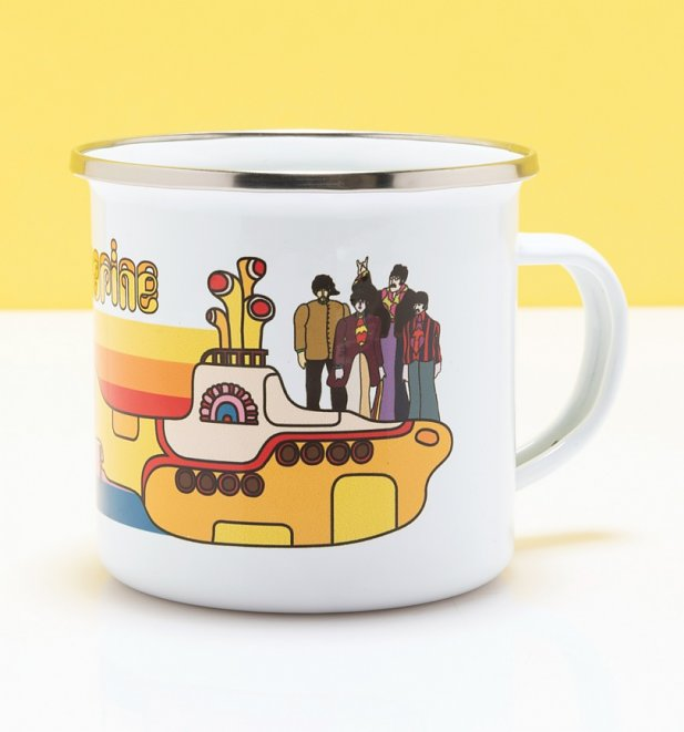 Yellow Submarine Rainbow Enamel Mug