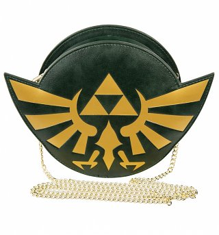 Zelda Triforce Logo Cross Body Bag