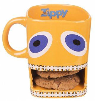 Zippy Mug With Biscuit Holder