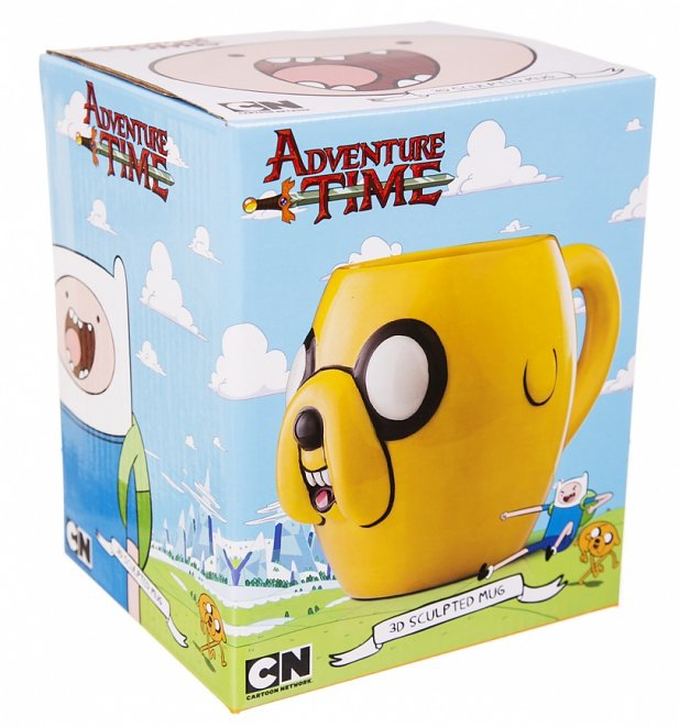 Adventure Time Jake 3D Ceramic Mug