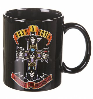 Boxed Guns N Roses Appetite For Destruction Mug