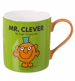 Boxed Mr Clever Mug