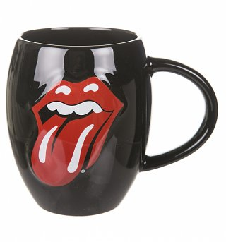 Boxed Rolling Stones Tongue Embossed Mug