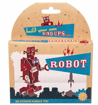 Build Your Own Wind Up Robot