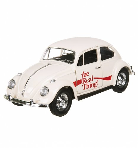 Coca-Cola 1966 VW Beetle The Real Thing 1:24 Scale Diecast Model