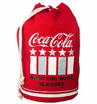 Coca-Cola Americana Canvas Duffle Bag