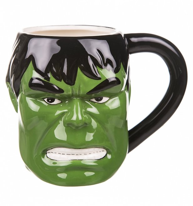 Comic Burst 3D Incredible Hulk Mug