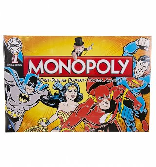 DC Comics Monopoly Game Set