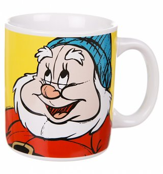 Disney Snow White And The Seven Dwarfs Happy Mug