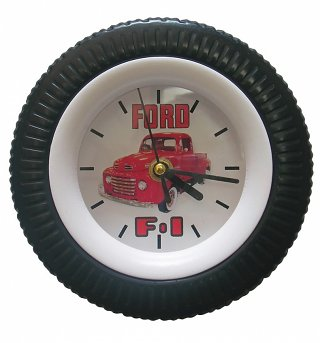 Ford F-1 Tyre Wall Clock