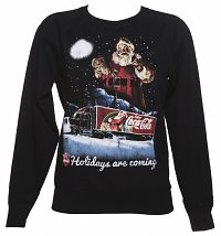 Women's Coca-Cola Holidays Are Coming Lightweight Christmas Jumper