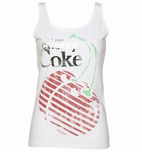 Women's Enjoy Cherry Coke Foil Vest