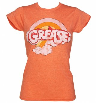 Women's Grease Rainbow Logo T-Shirt