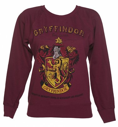 Women's Harry Potter Gryffindor Team Quidditch Sweater