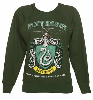 Women's Harry Potter Slytherin Team Quidditch Sweater