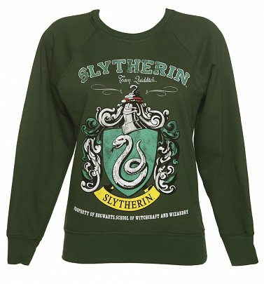 Harry Potter Slytherin Quidditch Team Damenpullover