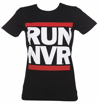 Women's RUN NVR Parody T-Shirt