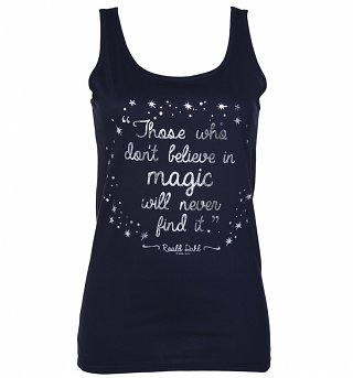 Women's Roald Dahl Believe In Magic Foil Print Vest