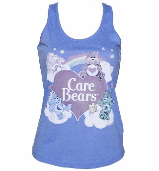 Women's Vintage Care Bears Racerback Vest