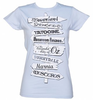 Women's World Famous Signpost T-Shirt