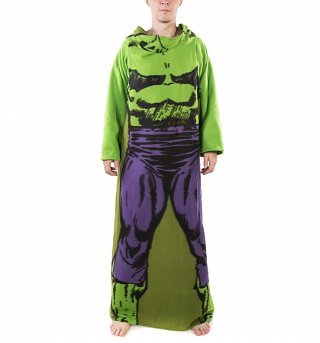 Marvel Comics Incredible Hulk Costume Fleece Snuggler