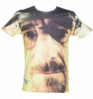 Men's Breaking Bad Walter Face Sublimation T-Shirt
