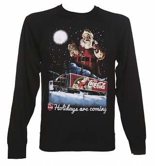 Men's Coca-Cola Holidays Are Coming Lightweight Christmas Jumper