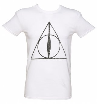 Men's Harry Potter Deathly Hallows Symbol T-Shirt