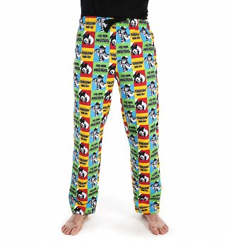 Men's He-Man Pop Art Lounge Pants