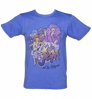 Men's Jem And The Holograms Band T-Shirt