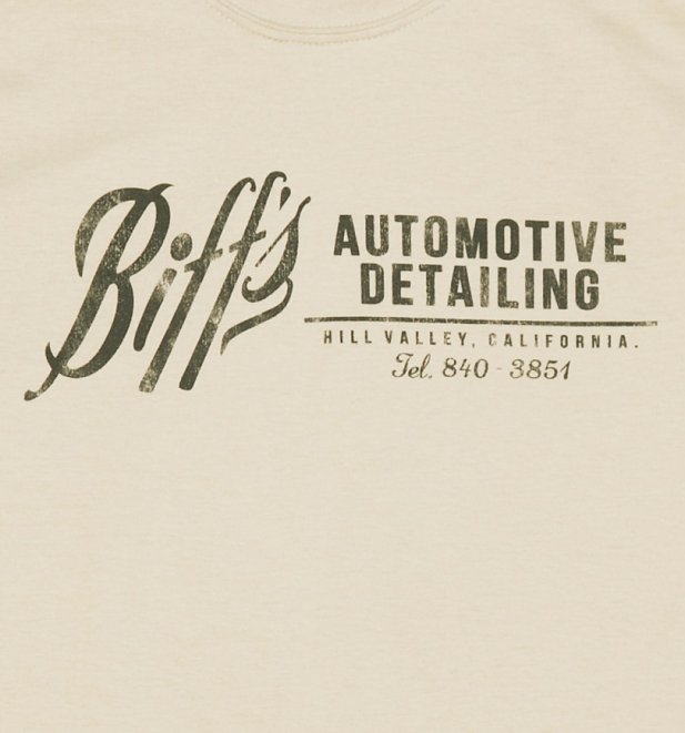 Men's Off White Biffs Automotive Detailing T-Shirt