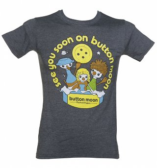 Men's See You Soon On Button Moon T-Shirt
