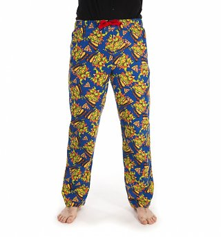 Unisex Teenage Mutant Ninja Turtles Pizza Lounge Pants