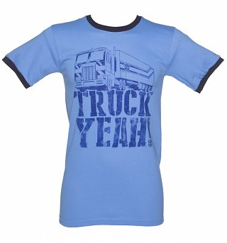 Men's Transformers Truck Yeah Ringer T-Shirt