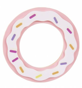 Pink Candy Doughnut Statement Bangle from I Love Crafty