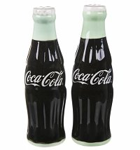 Retro Ceramic Coca-Cola Salt And Pepper Shakers