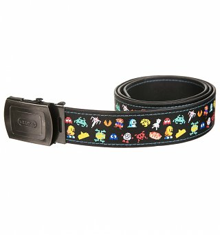 Retro Gaming Pixels Characters Belt