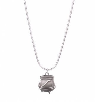 Silver Plated Harry Potter Cauldron Necklace