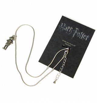 Silver Plated Harry Potter Dobby The House Elf Necklace